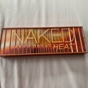 Naked Heat Palette- Barely used!!